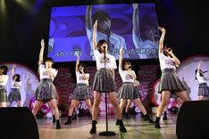 AKB48チーム8「8月8日はエイトの日 夏だ!エイトだ!ピッと祭り 2018」朝PIT公演の様子。(c)AKS