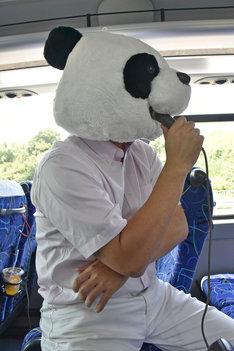 X JAPANの「WEEK END」に乗せてパンダあるあるを歌うRG。