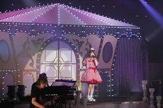 「AYA UCHIDA LIVE TOUR 2018 ~So Happy!!!!!~」群馬・ベイシア文化ホール公演の様子。