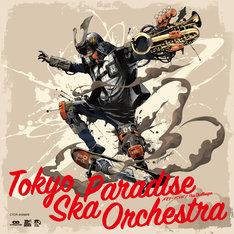 東京スカパラダイスオーケストラ「メモリー・バンド / This Challenger」CD+DVD盤ジャケット