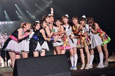 SUPER☆GiRLS、アップアップガールズ(仮)と「Dear My Friends」をコラボレーションするPASSPO☆。