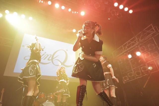 "「""LinQの日""直前999円LIVE 2018『私たちがLinQです!アラタメマシテハジメマシテ。』」の様子。(写真提供:ジョブネット)"