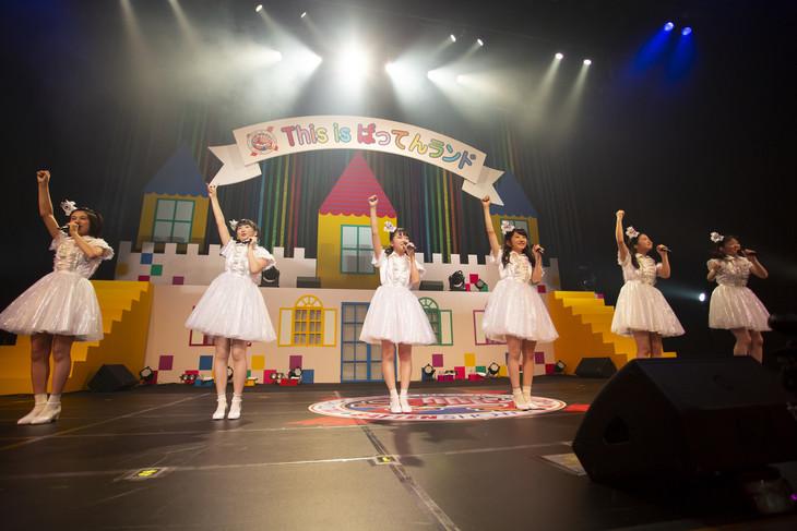 ばってん少女隊「7.16旗揚げ記念大会 ~博多美少女Vターン物語~」の様子。