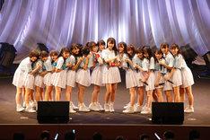 STU48のチャリティコンサートツアー初日公演の様子。(c)STU