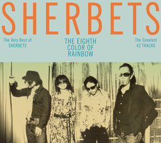 SHERBETS「The Very Best of SHERBETS『8色目の虹』」初回限定盤ジャケット