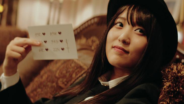 怪盗クランキーを演じる菅井友香。