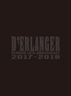 D'ERLANGER「D'ERLANGER REUNION 10TH ANNIVERSARY LIVE 2017-2018」完全生産限定盤ジャケット