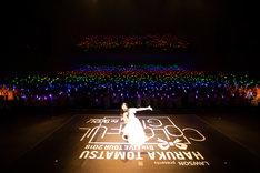 戸松遥「LAWSON presents 戸松遥 5th Live tour 2018 ~COLORFUL GIFT to YOU~」東京・中野サンプラザホール公演の様子。