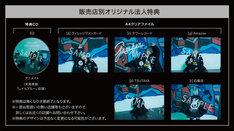 夏代孝明「Ganger」購入特典のサンプル画像。
