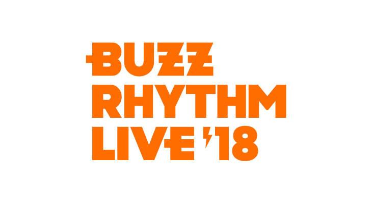 「バズリズム LIVE 2018」ロゴ