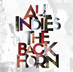 THE BACK HORN「ALL INDIES THE BACK HORN」ジャケット