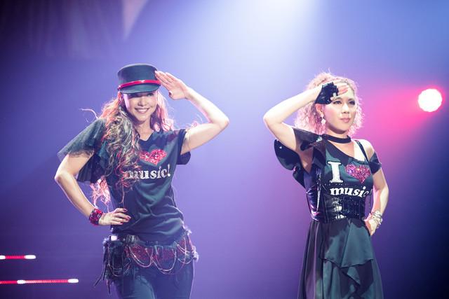 安室奈美恵とDOUBLE。