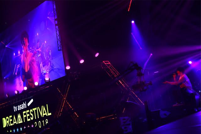 sumika (c)テレビ朝日 ドリームフェスティバル 2018 / 写真:岸田哲平