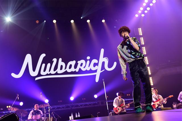 Nulbarich (c)テレビ朝日 ドリームフェスティバル 2018 / 写真:岸田哲平