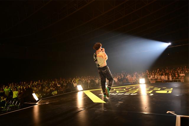 JQ(Vo / Nulbarich) (c)テレビ朝日 ドリームフェスティバル 2018 / 写真:岸田哲平