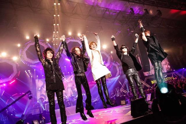 X JAPAN (c)テレビ朝日ドリームフェスティバル2018(写真提供:ジャパンミュージックエージェンシー)