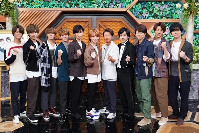 「嵐にしやがれ 2時間スペシャル」より、嵐とKing & Prince。(c)日本テレビ