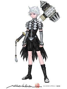 「リエゾン・ディアーヴォロ」のキャラクター・リューハ。(画像提供:NHK)