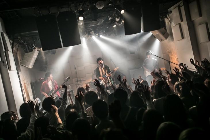 the quiet room「Road movie vol.09」の様子。(写真提供:murffin discs)