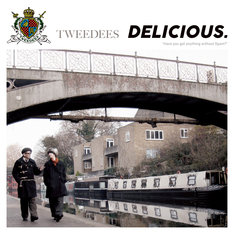 TWEEDEES「DELICIOUS.」ジャケット