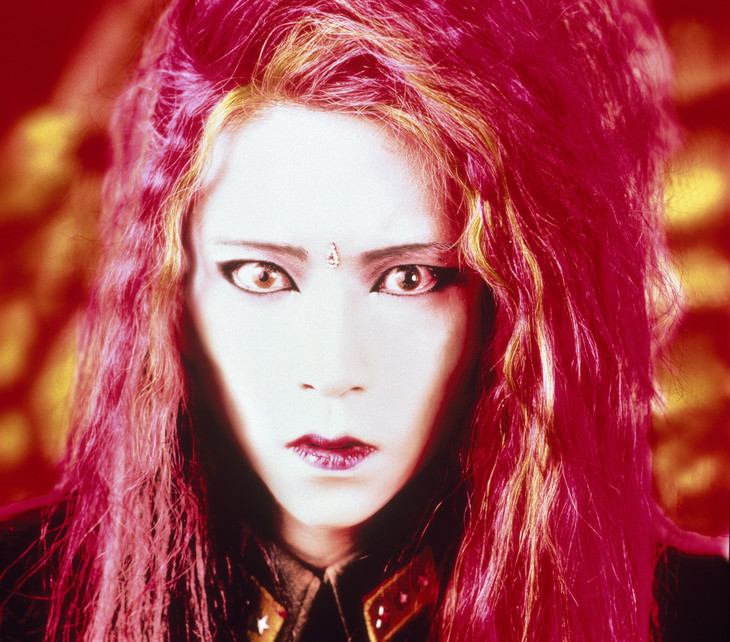 ソロ活動初期のhide。 (Photo by HIDEO CANNO[CAPS])