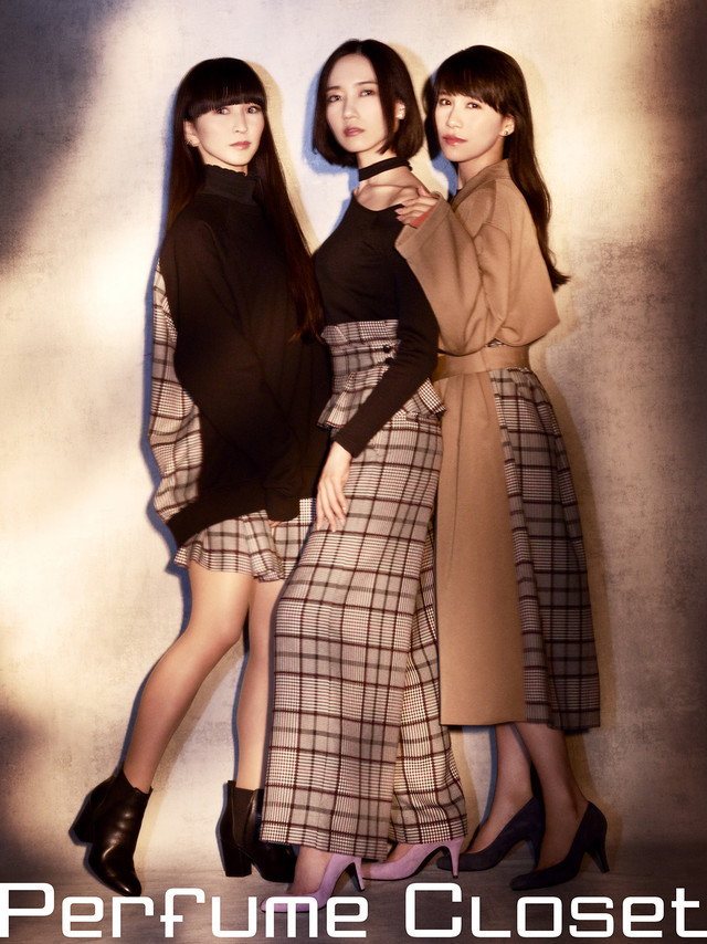 「Perfume Closet」第3弾のシーズンビジュアル。