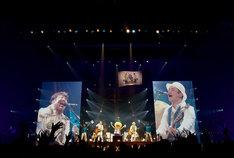 「YUZU SPECIAL LIVE 2018 BIG YELL×FUTARI in 広島」の様子。(写真提供:セーニャ・アンド・カンパニー)