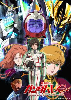 「機動戦士ガンダムUC Blu-ray BOX」ビジュアル (c)創通・サンライズ