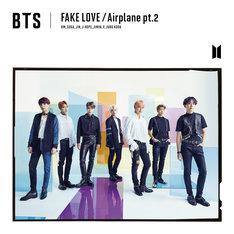 BTS(防弾少年団)「FAKE LOVE / Airplane pt.2」初回限定盤Aジャケット