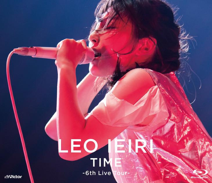 家入レオ「TIME ~6th Live Tour~」Blu-rayジャケット