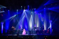 高垣彩陽「LAWSON presents 高垣彩陽コンサート『Memoria×MelodiaII』」の様子。(撮影:佐藤薫)