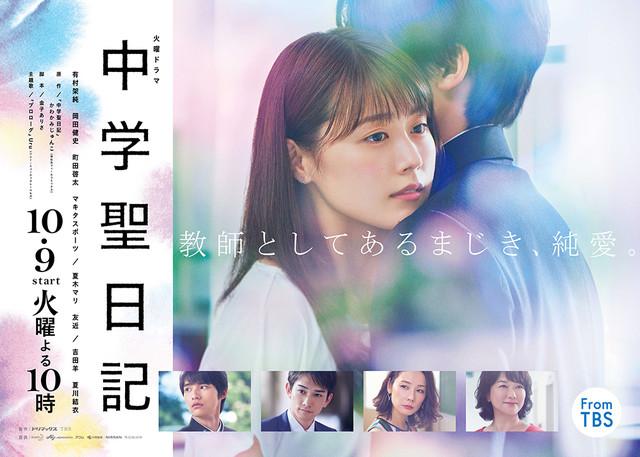TBS系「中学聖日記」ビジュアル (c)TBS