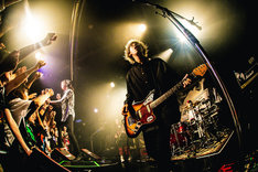 "「SUPER BEAVER『歓声前夜』Release Tour 2018 ~初めての、ラクダ運転~」東京・shibuya eggman公演の様子。(撮影:日吉""JP""純平)"