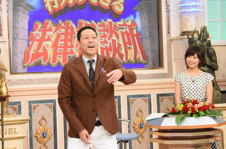 日本テレビ系「行列のできる法律相談所」10月21日放送回より。(c)日本テレビ