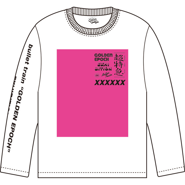 オリジナルグッズのロングTシャツ。