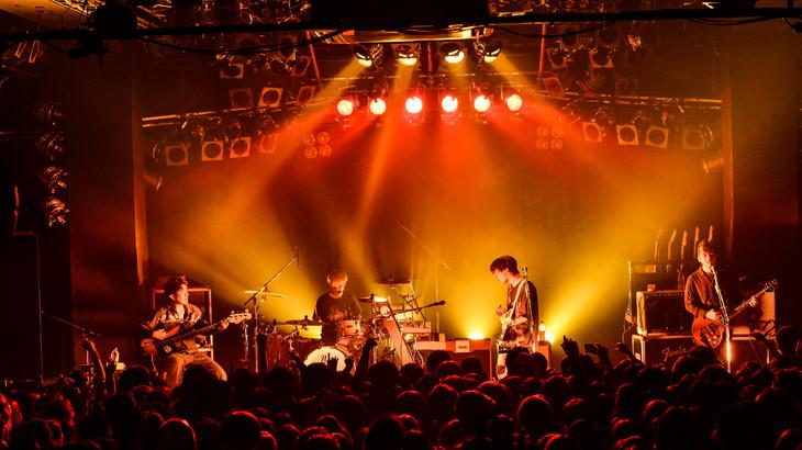 ストレイテナー「My Name is Straightener TOUR」初日公演の様子。(Photo by Rui Hashimoto[SOUND SHOOTER])