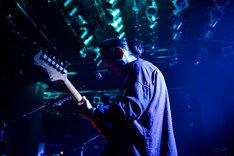 大山純(G)(Photo by Rui Hashimoto[SOUND SHOOTER])