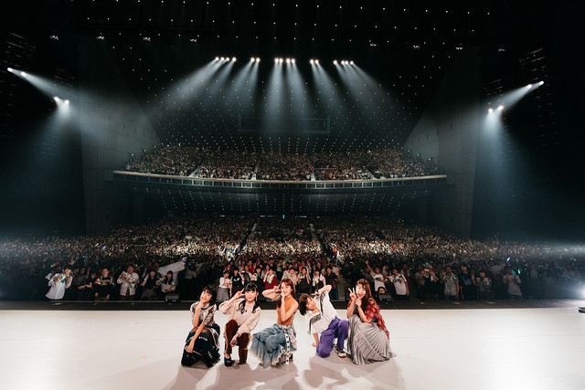 Little Glee Monster「Little Glee Monster Live Tour 2018~Calling!!!!!」東京・東京国際フォーラム ホールA公演の様子。(Photo by Yusuke Sato)