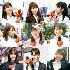 「YOUは何しに日本へ?」でロケに挑戦した乃木坂46メンバー。(c)テレビ東京