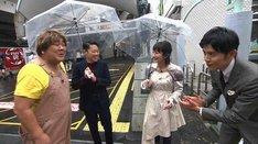 「火曜サプライズ イケメンアポなし祭り&YOSHIKIとアメリカ大上陸3HSP」のワンシーン。(c)日本テレビ