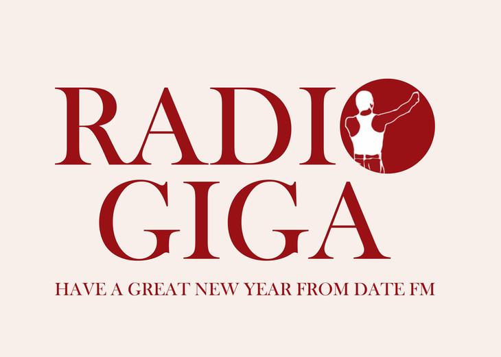 「Date fm RADIO GIGA」ロゴ