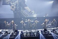 「BABYMETAL WORLD TOUR 2018 in JAPAN」兵庫・ワールド記念ホール公演の様子。(Photo by Tsukasa Miyoshi [Showcase])