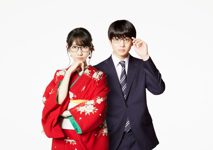 ドラマ「この恋はツミなのか!?」で主演を務める柏木由紀(左)、伊藤健太郎(右)。(c)「この恋はツミなのか!?」製作委員会・MBS