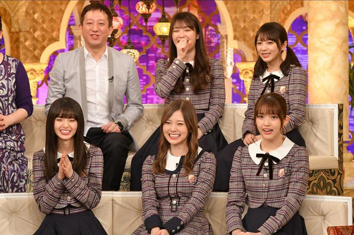 TBS系「櫻井・有吉THE夜会」11月8日放送回より。(c)TBS
