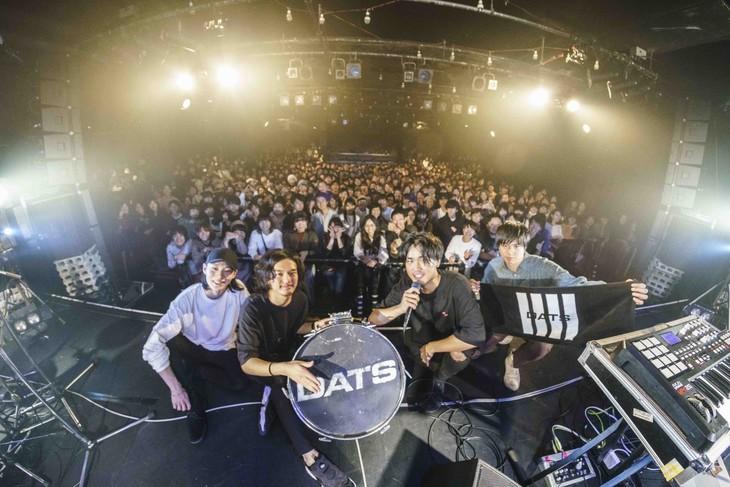 DATS「Digital Analog Translation System Tour 2018」の様子。(Photo by Kousuke Ito)