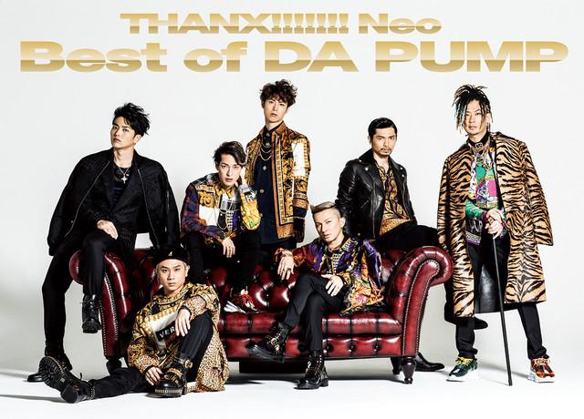 DA PUMP「THANX!!!!!!! Neo Best of DA PUMP」初回生産限定豪華盤ジャケット