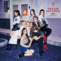 Dreamcatcher「What -Japanese ver.-」初回限定盤Aジャケット