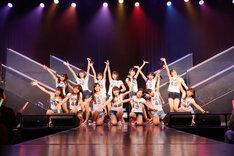 「7周年記念特別公演」よりHKT48 5期生。(c)AKS