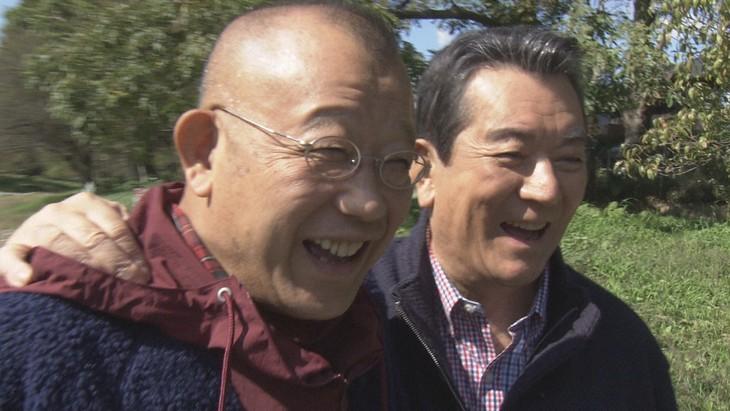 笑福亭鶴瓶と加山雄三。(写真提供:NHK)