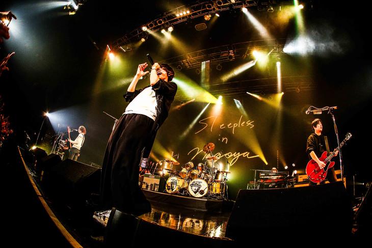 [ALEXANDROS]「Sleepless in Japan Tour」愛知・Zepp Nagoya公演の様子。(撮影:渡邉一生[KAZUKI WATANABE])